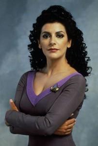 Marine Sirtis v seriáli