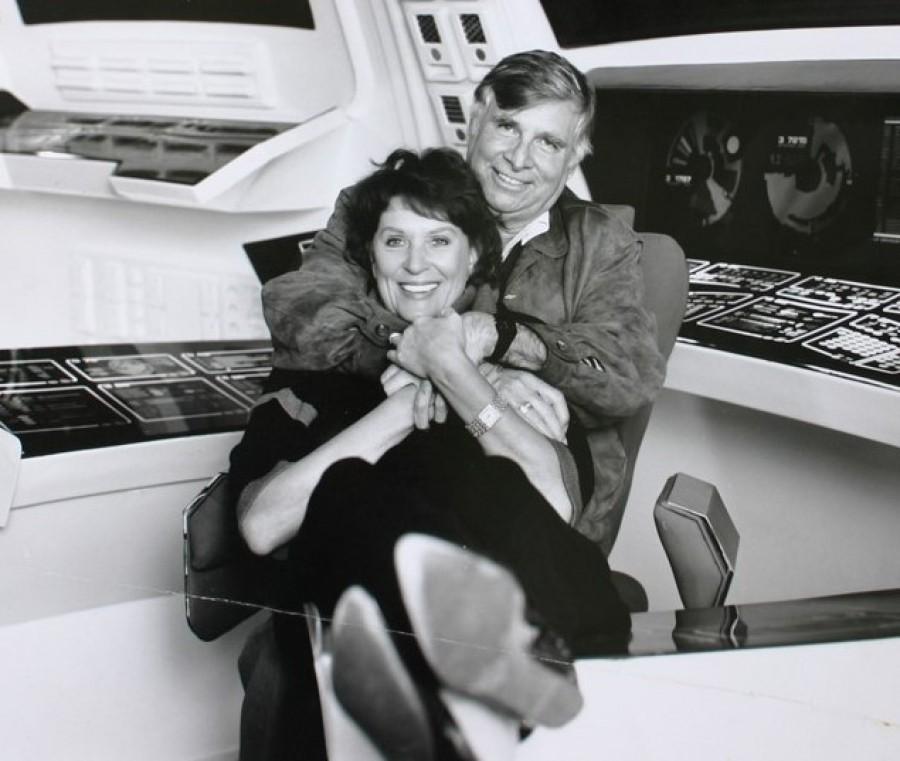 Roddenberry s manželkou