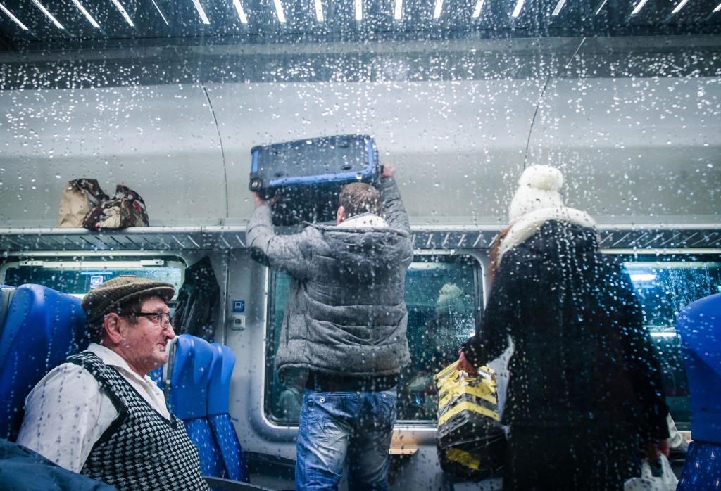Boj o miesto je občas napínavý. foto N - Tomáš Benedikovič
