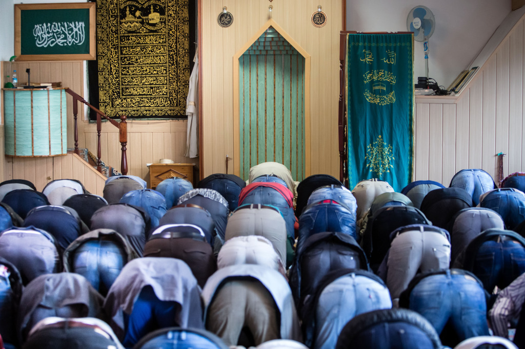 Piatková modlitba moslimov. Foto N - Tomáš Benedikovič
