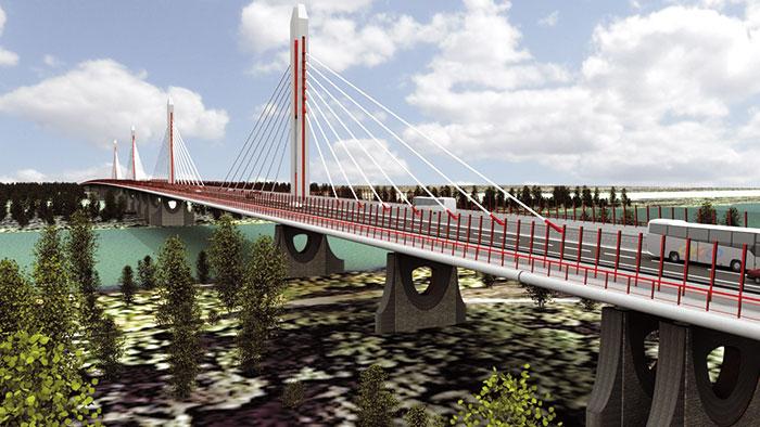 Most na budúcom obchvate. Zdroj: obchvatbratislavy.sk