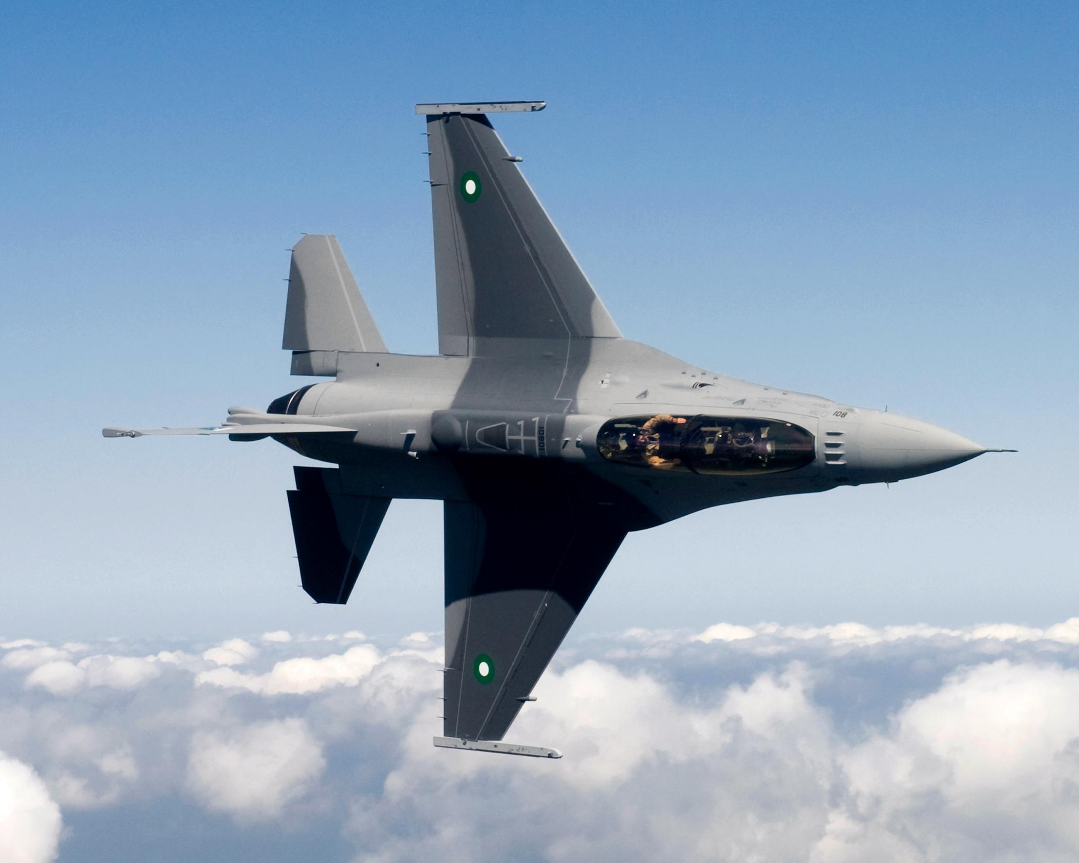 Americká F-16 je najrozšírenejšia stíhačka na svete. Využíva ju 26 krajín. Foto - Wikipedia
