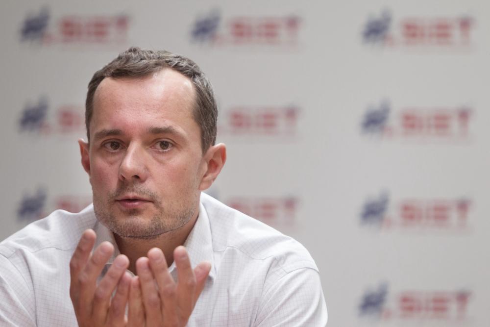 Šéf Siete Radoslav Procházka. Foto N – Vladimír Šimíček