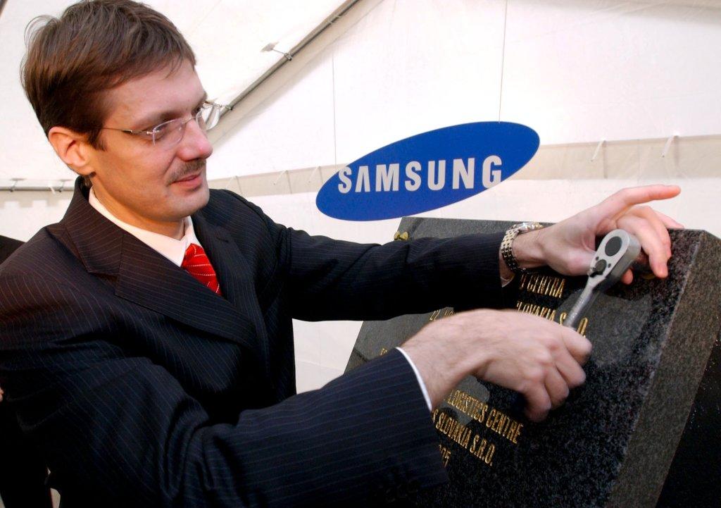 Jirko Malchárek ešte ako minister hospodárstva. Foto - archív TASR