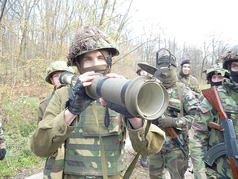 Z výcviku. Foto - Slovenskí branci