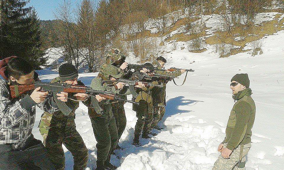 Foto - Slovenskí branci