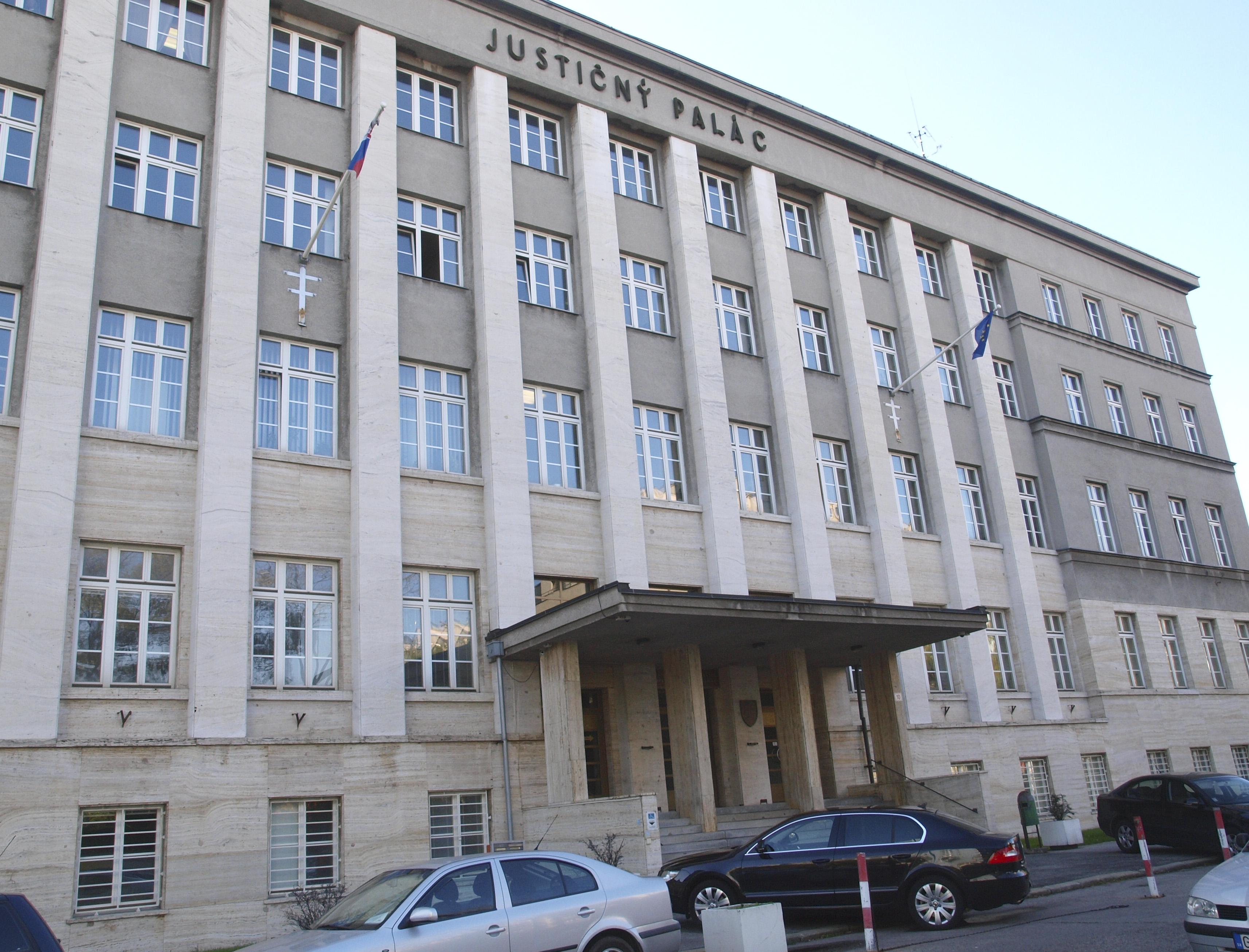 Justičný palác. Foto – TASR