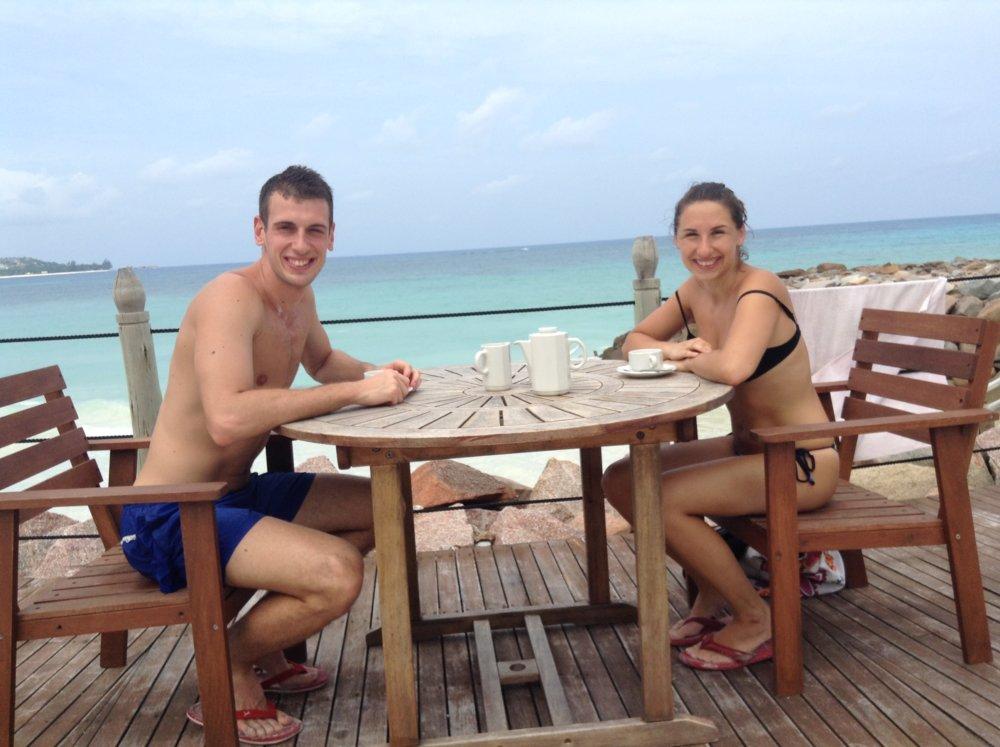 kávička na seychelský spôsob