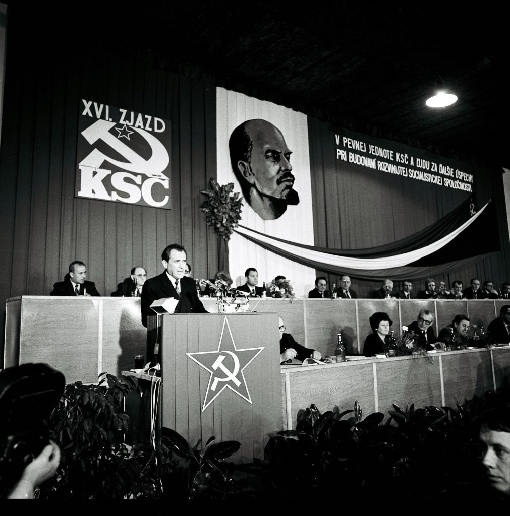 Vasil Biľak reční. FOTO – TASR
