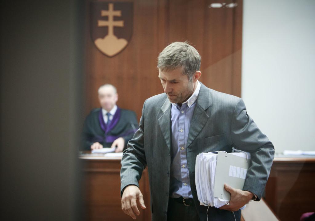 Kosík po rozsudku. Foto N - Tomáš Benedikovič