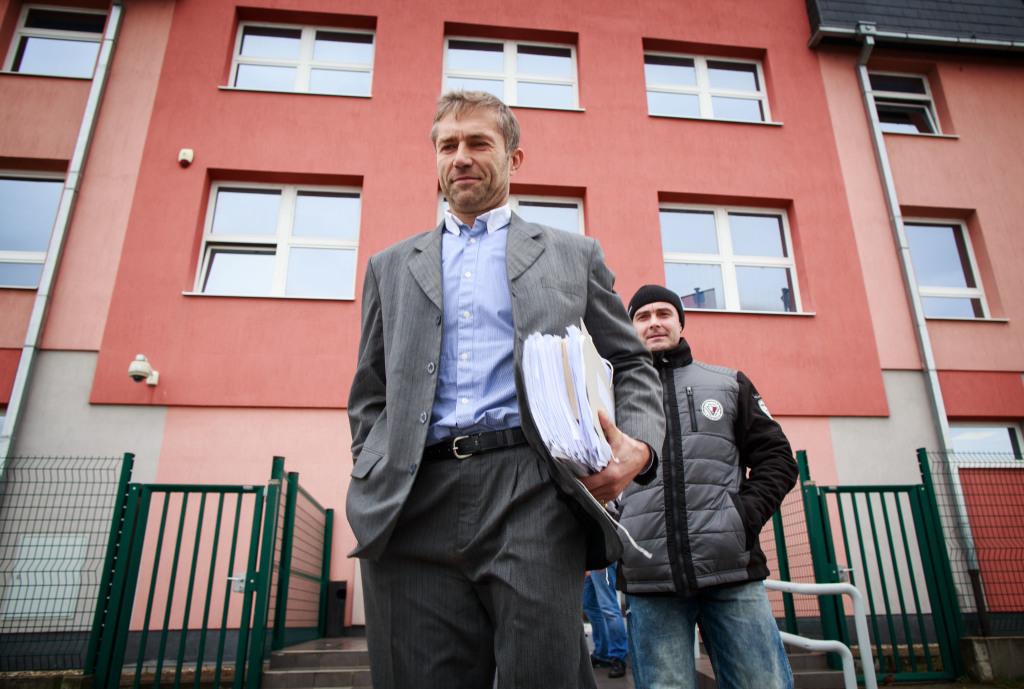 Ľuboša Kosíka z kauzy únos odsúdili na Špecializovanom trestnom súde za podvod so zmenkou. Rozsudok ešte nie je právoplatný. Foto N - Tomáš Benedikovič