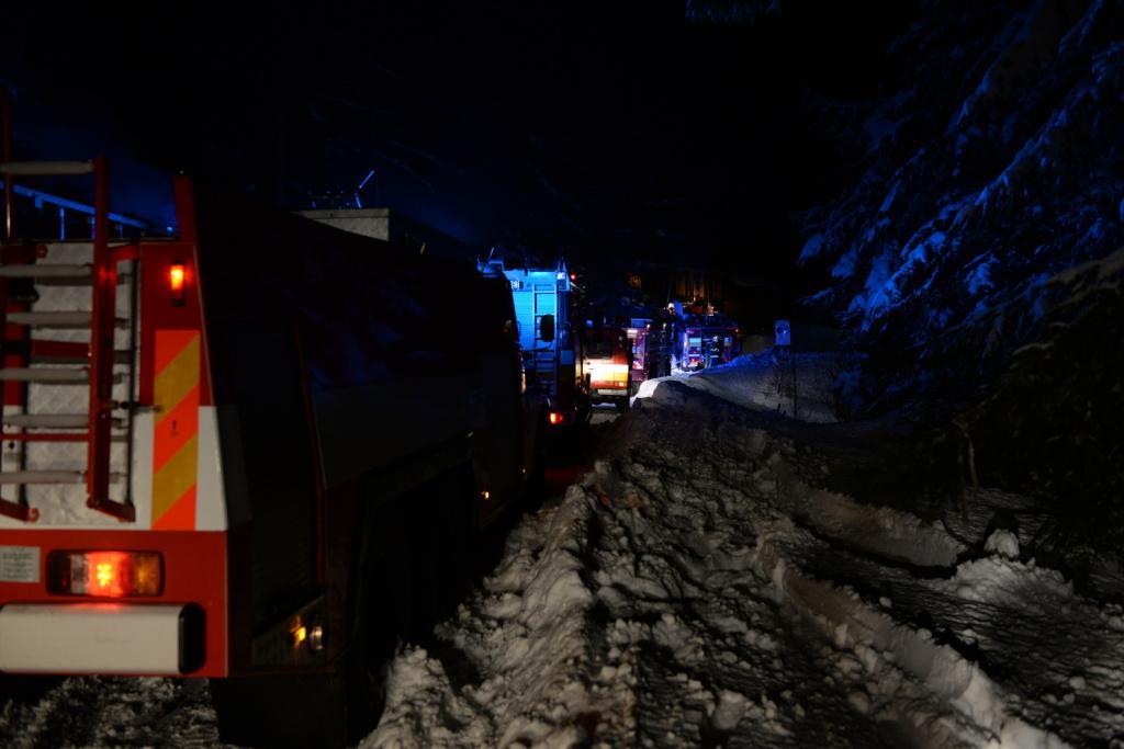 Požiar chaty v Žiarskej doline_foto 3