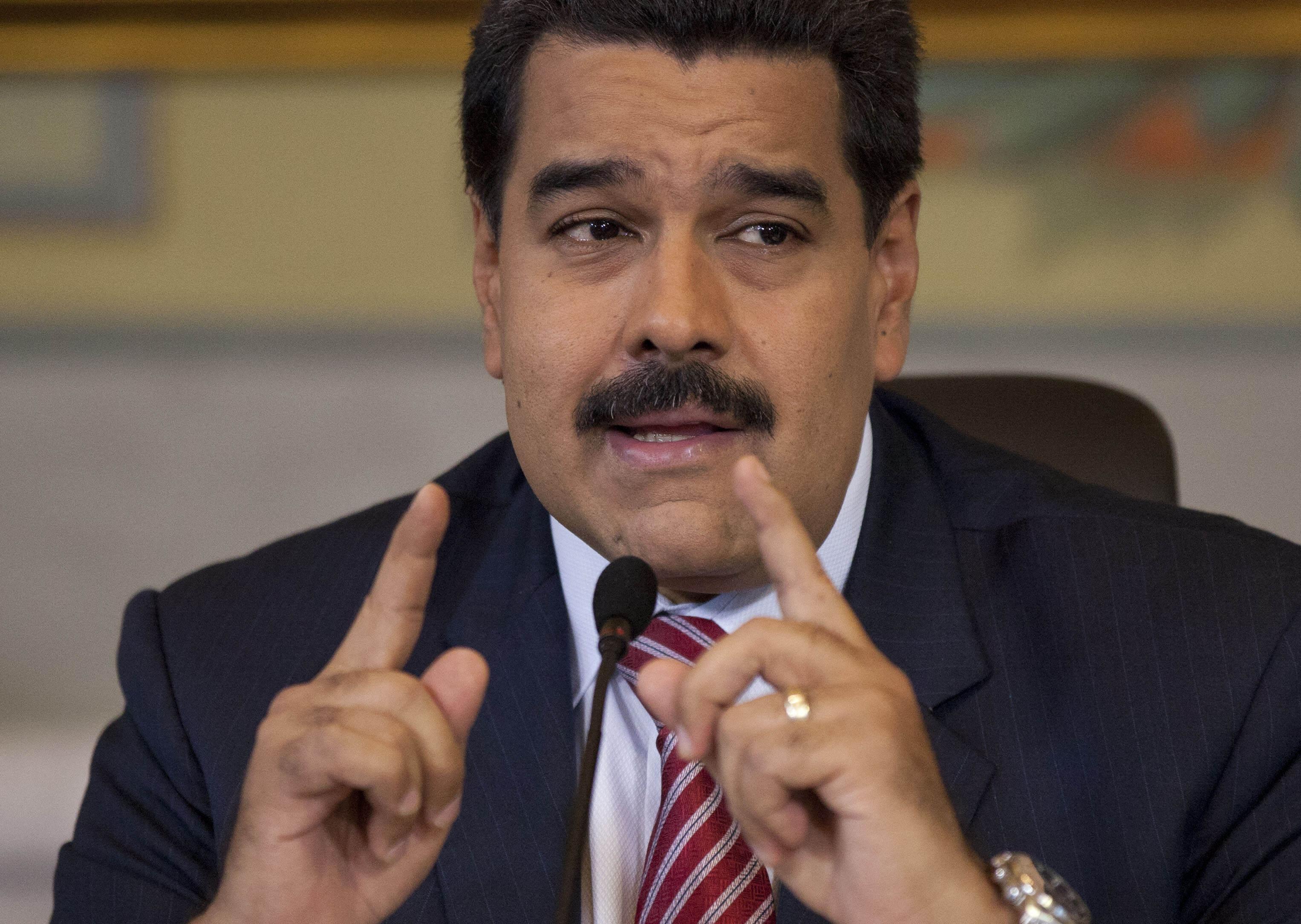 """Prezident Maduro za všetkým vidí zahraničnú """"ultrapravicu"""". FOTO - TASR/AP"""