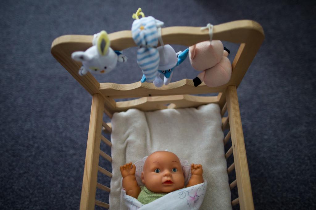 U Míny v detskej izbe. Foto N - Vladimír Šimíček