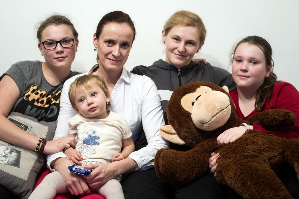 Hľadali darcu, ktorý sa podobá na Ľubicu. Foto N - Vladimír Šimíček