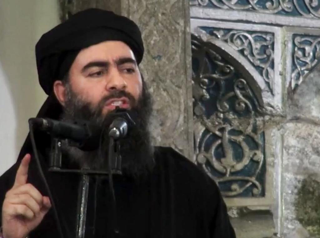 Vodca hnutia Islamský štát al-Bagdádí. FOTO - TASR