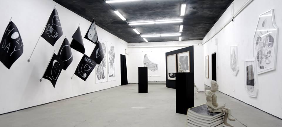 Výstava českej dvojice Bohm & Franta v galérii Soda.
