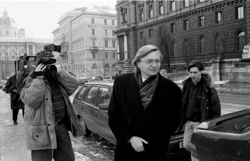 Michal Kováč mladší asi rok po únose. Foto - archív TASR