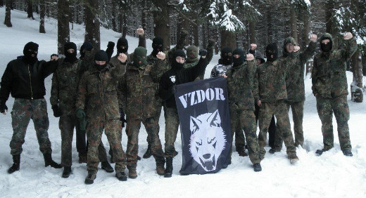 Zimný výcvik Akčnej skupiny Vzdor Kysuce. Foto - Vzdor