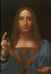Leonardov Salvator Mundi.