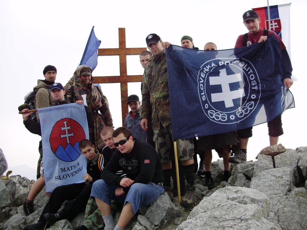 Turistický oddiel Slovenskej pospolitosti na Kriváni. Foto - SP