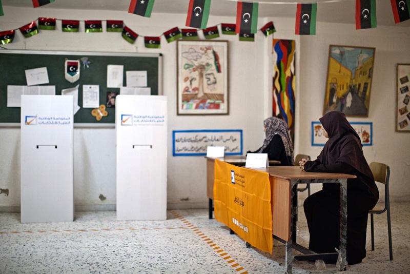 Pri posledných voľbách sa ľudia báli hlasovať. FOTO - TASR