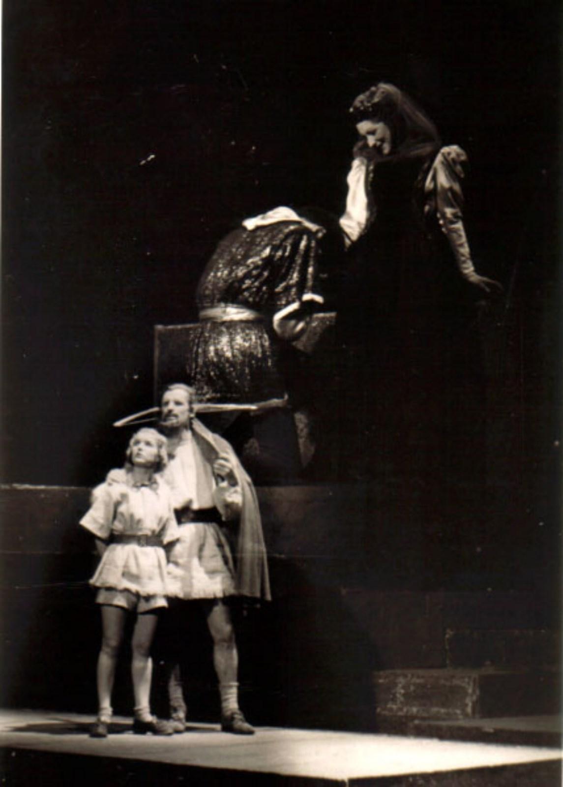 Friedrich Schiller: Wiliam Tell, 1942, réžia Ján Jamnický Marta Černická, Mikuláš Huba, Oľga Sýkorová.