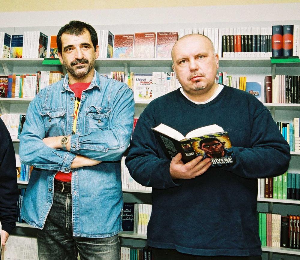 Danglár a Peter Pišťanek (2003). Foto - Peter Procházka.