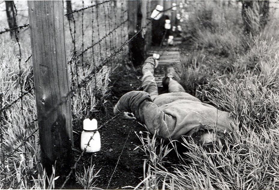 Zabitý elektrickým prúdom pri pokuse o útek. Foto – TASR/ÚPN