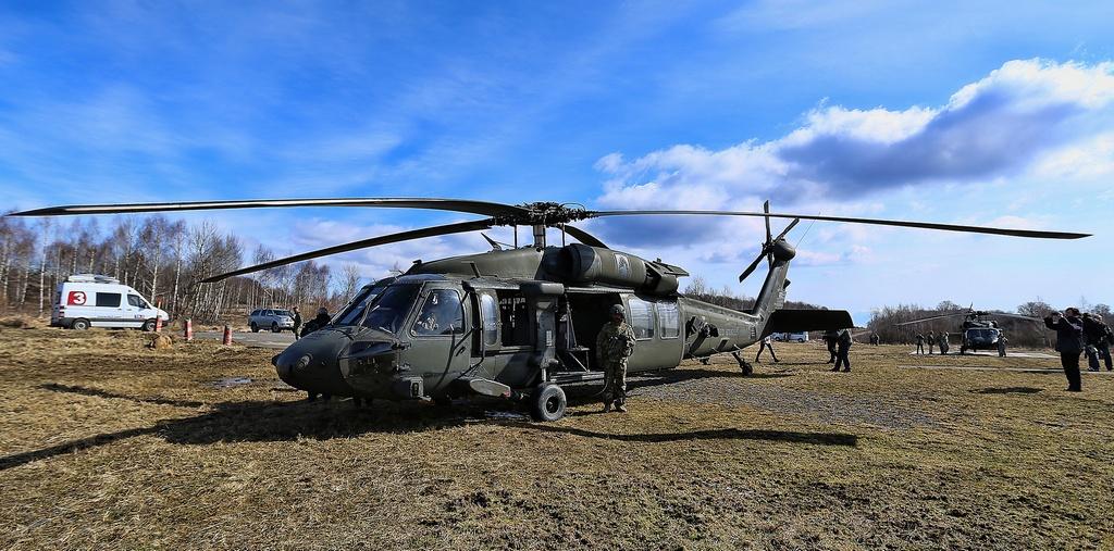 Americký Black Hawk. Foto – TASR