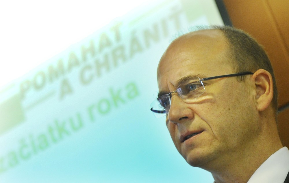 Bývalý policajný prezident Jaroslav Spišiak. Foto - Tasr