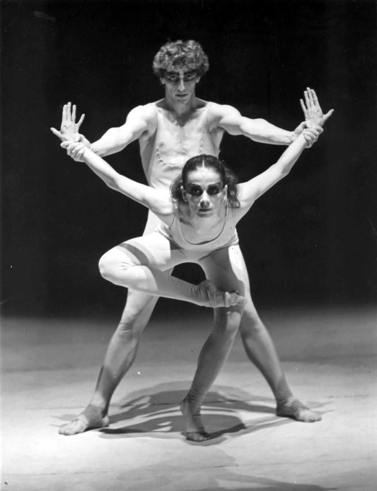 Igor Stravinskij: Svätenie jari, 1983, choreografia aréžia Karol Tóth Libor Vaculík, Alena Macháčová.