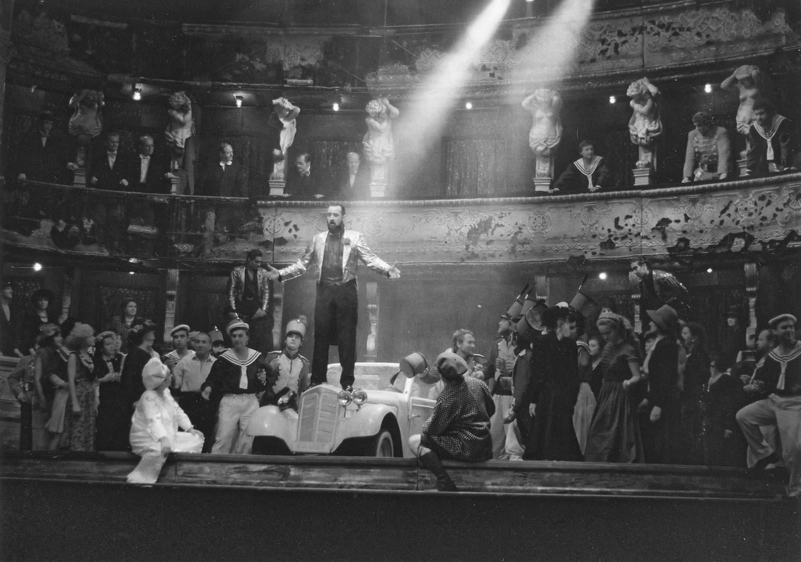 Charles Gounod: Faust aMargaréta, 1989, réžia Jozef Bednárik a. h. Ján Galla.