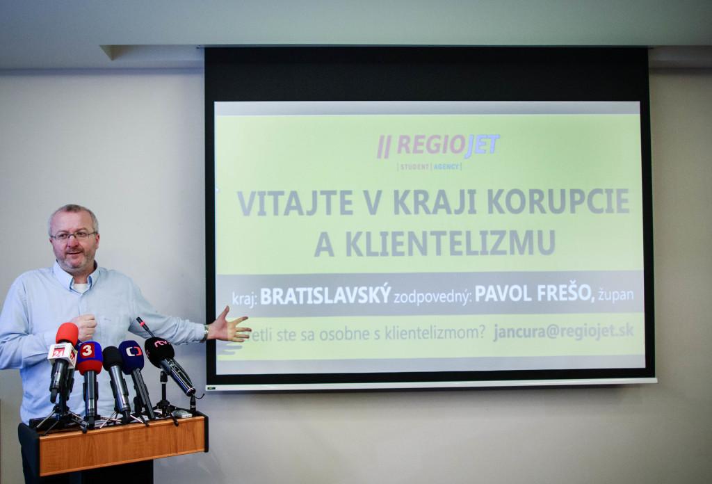 Radim Jančura rád kritizuje politikov. Foto N - Tomáš Benedikovič
