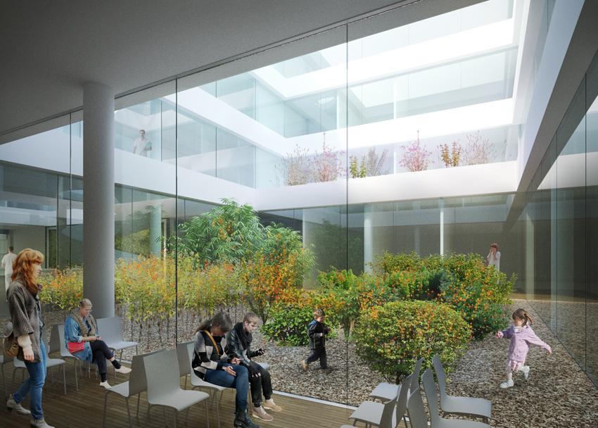 Nemocnica novej generacie Michalovce-atrium-web