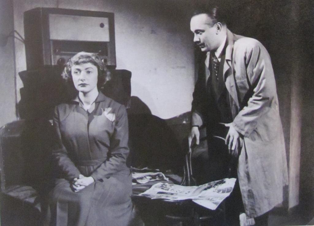 Jiřina s manželom Ernestom Strednanským. Foto - Post Bellum