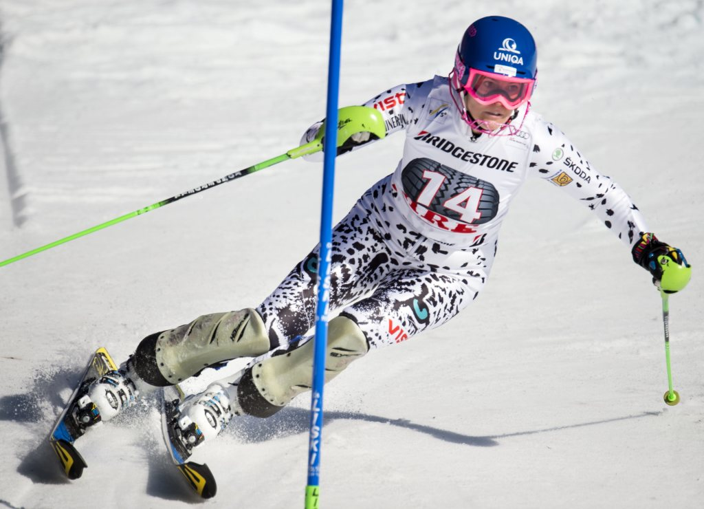 Veronika Velez-Zuzulová zajazdila vo švédskom Aare druhý najlepší čas. Foto - TASR/AP