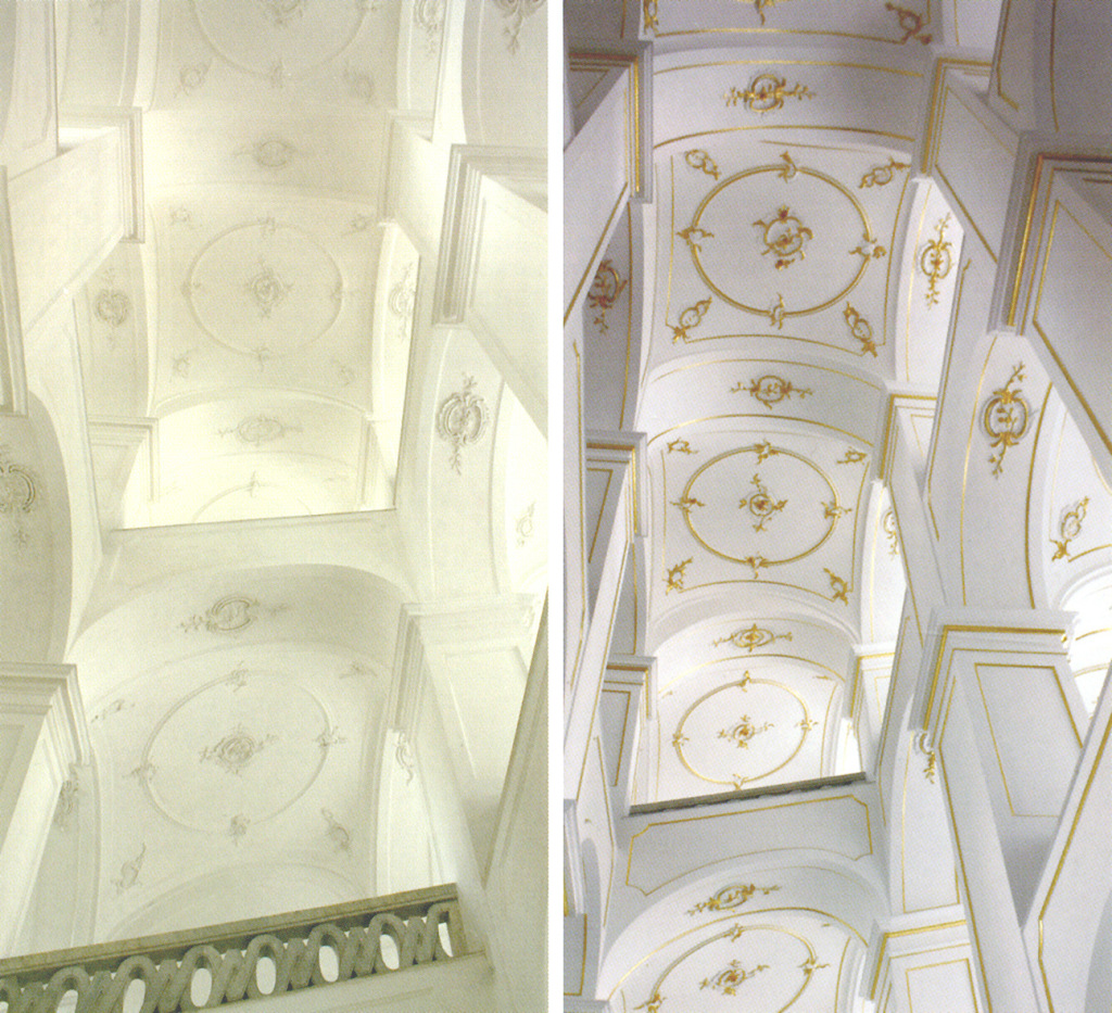 biele a zlate schodisko1