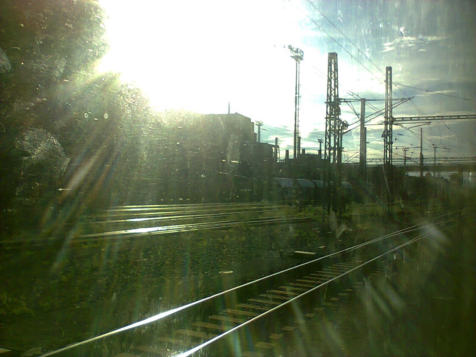 atmosféra z vlaku