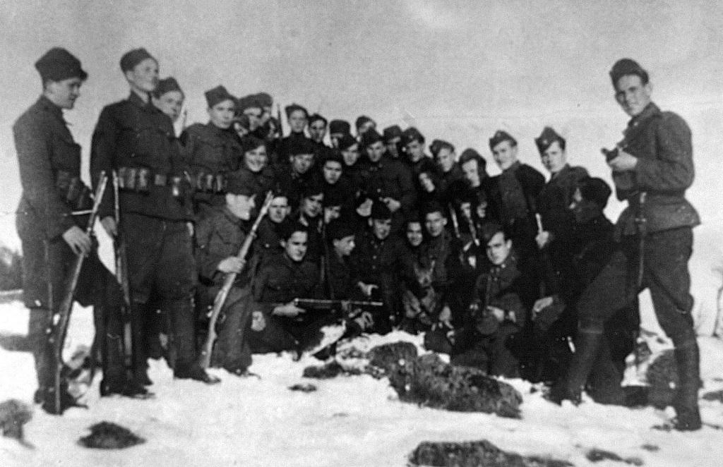 Vražedné komando, ktorému velil Ladislav Nižňanský. Foto - TASR