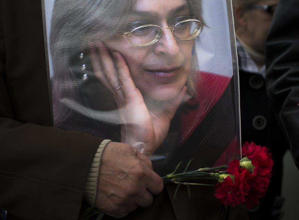 Zavraždená ruská novinárka Anna Politkovská. FOTO - TASR