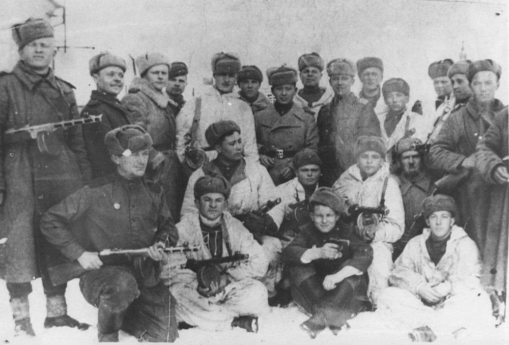 Sovieti pri oslobodení Mikuláša.