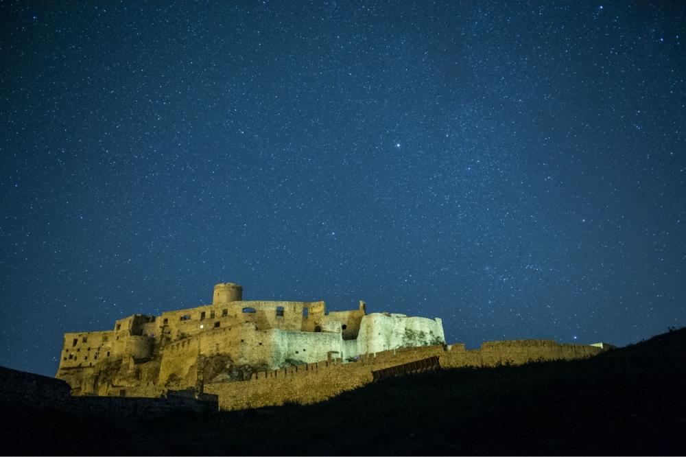 Spišský hrad. Foto - Tomáš Hulík.