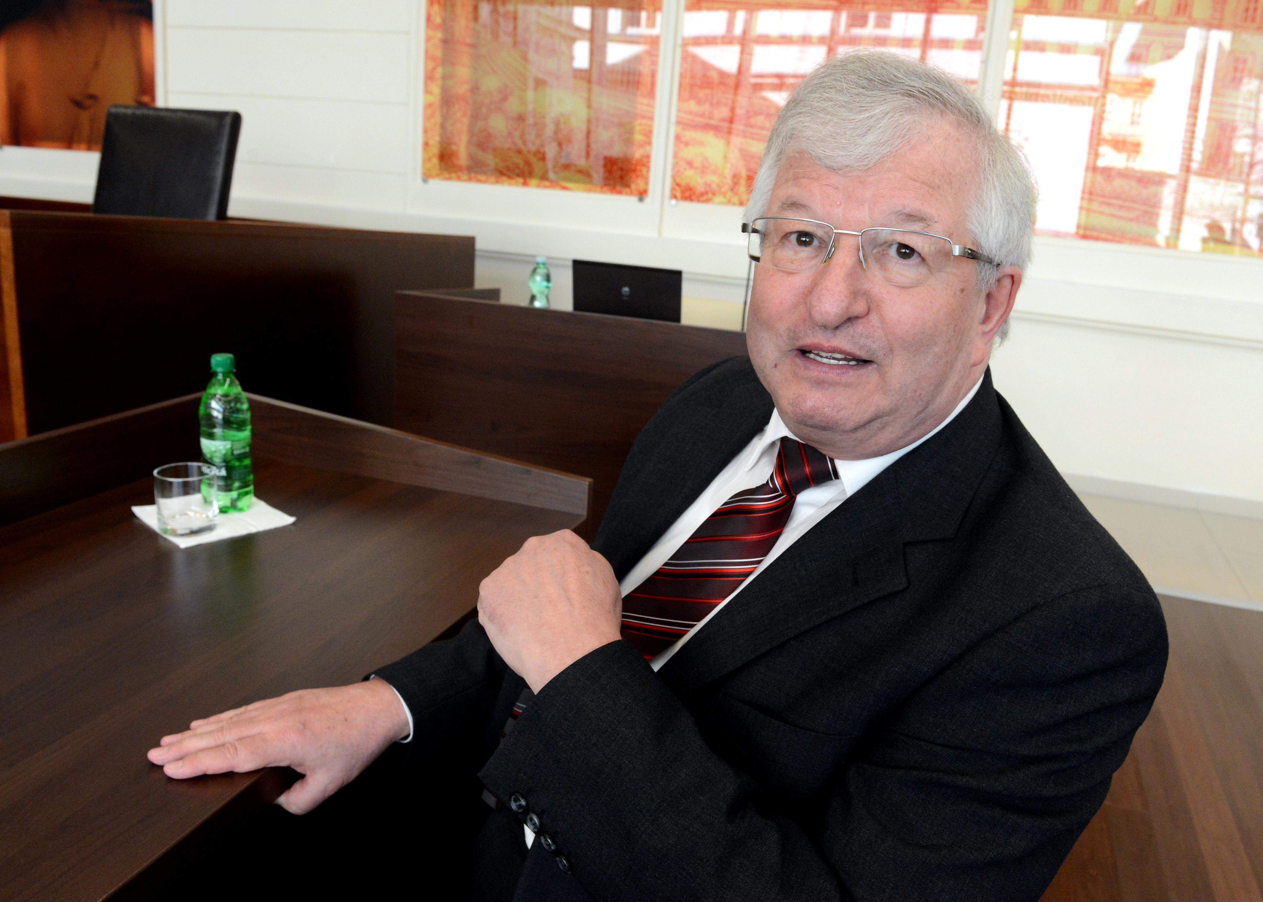 Prezidentov zástupca na súde a bývalý predseda Ústavného súdu Ján Mazák.foto - Tasr