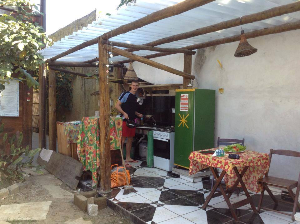 Kuchyňa na dvore