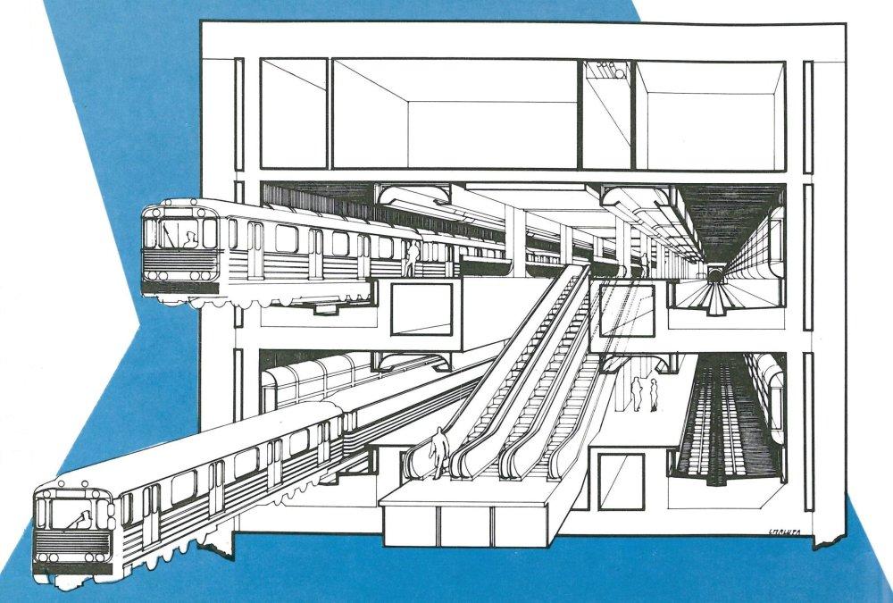 Stanica Prior na Kamennom námestí mala byť prestupnou medzi dvoma linkami. Foto - Archív P. Martinka