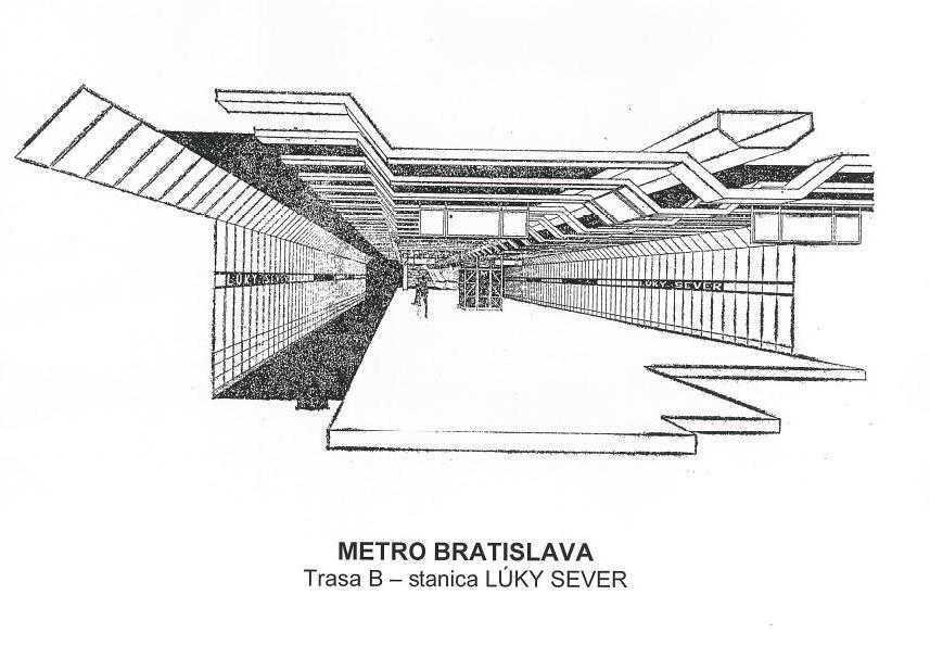 Časť Petržalčanov sa mala do centra voziť zo stanice Lúky Sever. Foto - Archiv P. Martinka