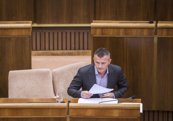 Minister dopravy Ján Počiatek. Foto N – Tomáš Benedikovič
