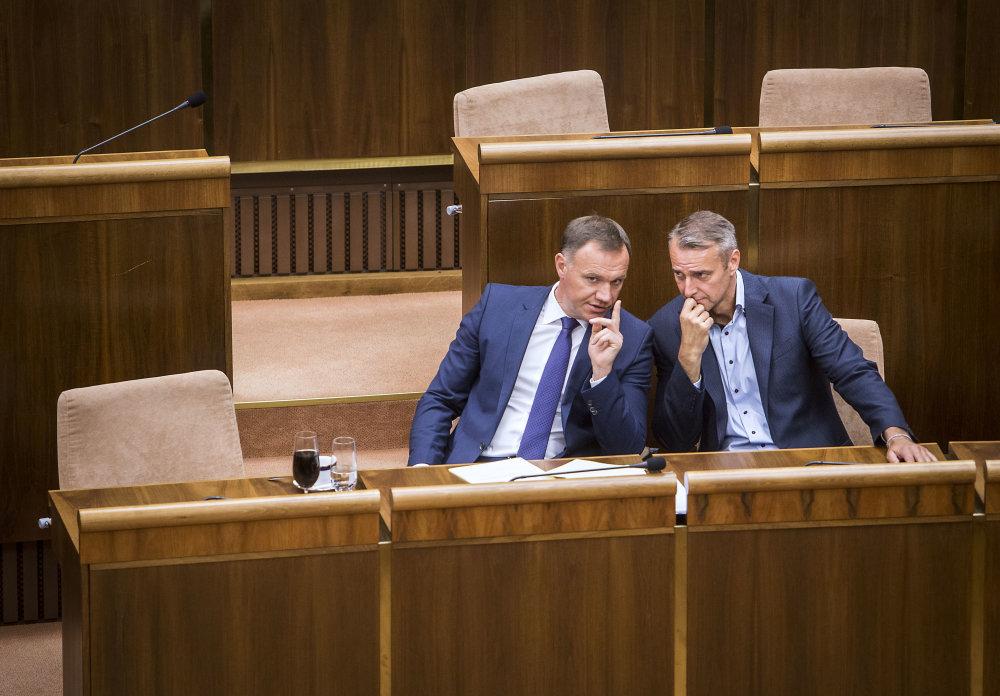 Viliam Čislák a Richard Raši. Foto N - Tomáš Benedikovič