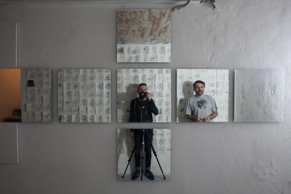 Ján Ballx (vpravo) a autor fotografií Peter Sit.